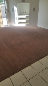 Tucson Carpet cleaning after